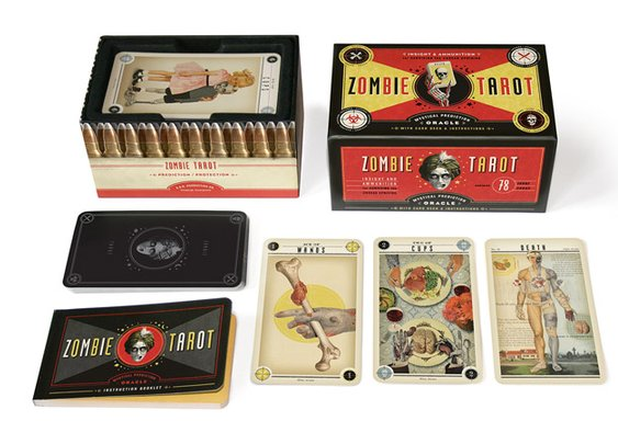 Zombie Tarot Cards - The Dieline -