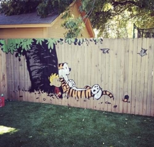 Best fence ever.