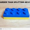 Harder than splitting and atom