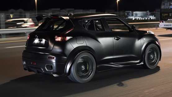 The Nissan Juke-R versus supercars