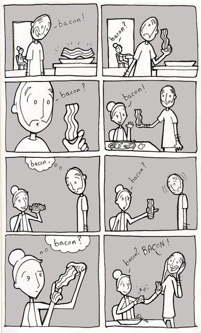 Bacon = Love