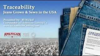 USA Jean Traceability - YouTube