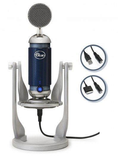 Blue Microphones releases the Spark Digital iPad and USB microphone
