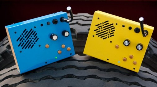 The Kaleidoloop takes a lo-fi approach to collecting sounds