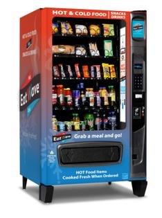 EatWave vending machine serves up piping hot food