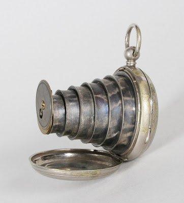 Victorian 1886 Spy Camera Pocket Watch
