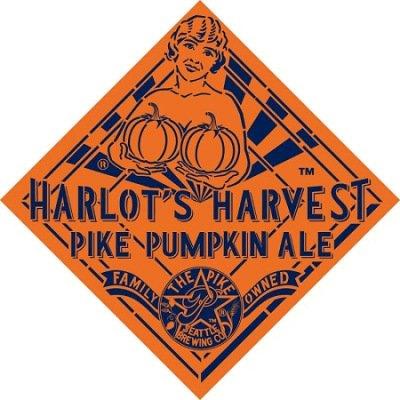 Harlot's Harvest Pike Pumpkin Ale :: Pike Brewing Company