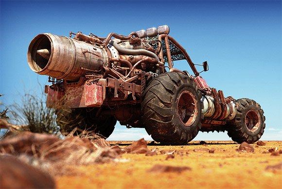 Jet Engine Dune Buggy