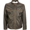 Black Rivet Leather Cycle Jacket - Wilsons Leather
