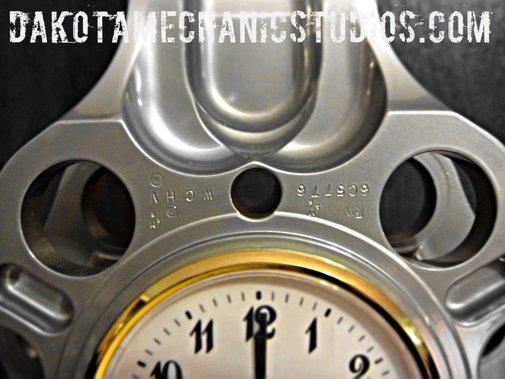 Authentic Pratt Whitney R 2800 Double Wasp Master Rod Clock DC 6 F4U Airplane | eBay