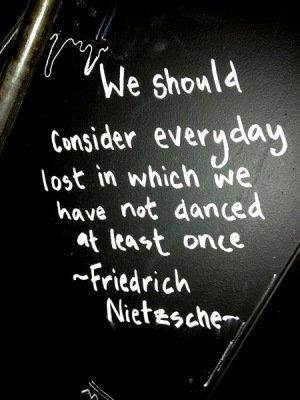 Dance Says Nietzsche