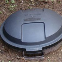 Build a Pet Waste Composter Using a Garbage Can