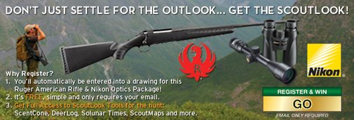 ScoutLook® Outdoor Weather Guide| Hunting & Fishing