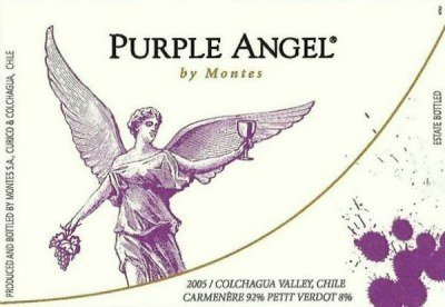 Montes Purple Angel Carmenère 2008