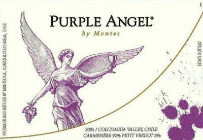 Montes Purple Angel Carmenère 2008