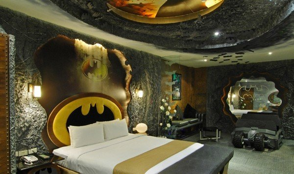 Batman-Inspired Motel Room in Taiwan for Your Inner Superhero