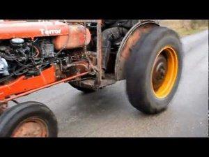 Cower In Fear Of The Tire-Shredding Terror Tractor