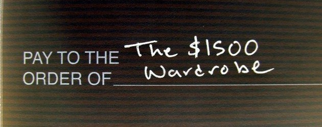 The $1500 Wardrobe – The alternatives