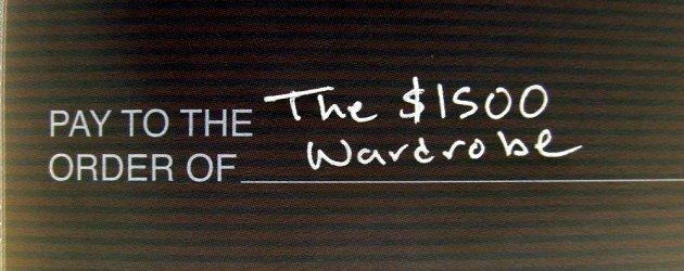 The $1500 Wardrobe – The alternatives