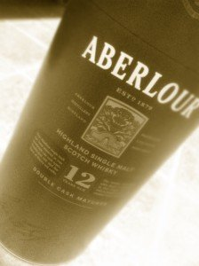 Aberlour 12 Year Old Single Malt Whiskey