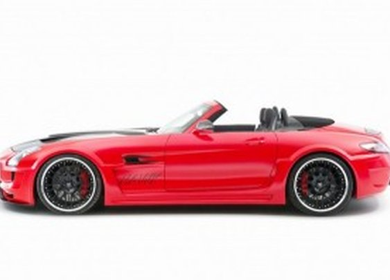 Super car - Mercedes-Benz SLS AMG Hawk from Hamann