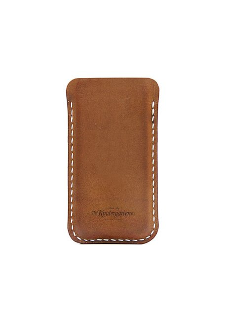 iPhone 5  leather sleeve / iphone case  The by TheKindergartenCo