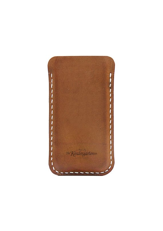 iPhone 5  leather sleeve / iphone case  The by TheKindergartenCo