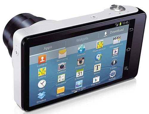 the New Samsung Galaxy Camera