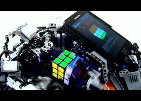 Cubestormer II: Solves Rubik's Cube in Record Time.  Faster Than the Human Record