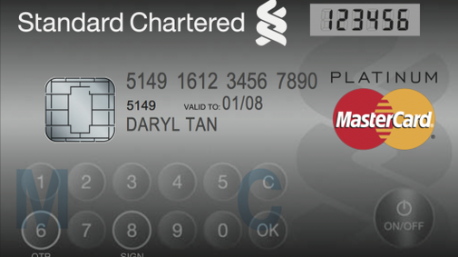 MasterCard releases card with LCD display and keyboard