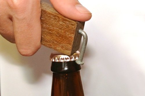 How to Make a Wooden Bottle Opener