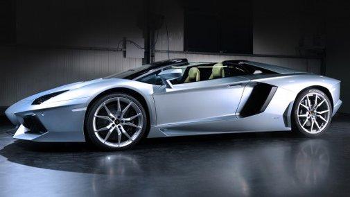 Lamborghini throws the top off new Aventador LP700-4 Roadster