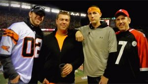 Father-Son's NFL Road Trip With Vets