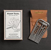 Fold Away Harp Toolkit   Stocking Stuffers   Restoration Hardware