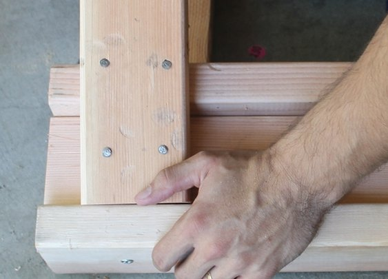 How to Build a Sawhorse
