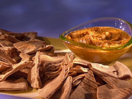 Roasted Red Bell Pepper Hummus Recipe : Guy Fieri : Recipes : Food Network