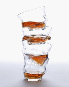 6 Tipsy Glasses