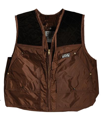 Dan's Hunting Gear  Squirrel Hunter's Brown Briarproof Vest