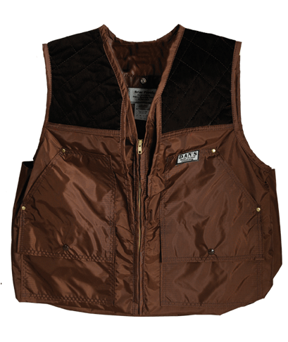 Dan's Hunting Gear| Squirrel Hunter's Brown Briarproof Vest