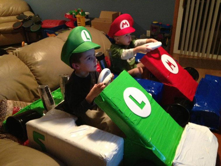 Best way to play Mario Kart!