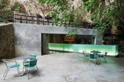 Bar in the Caves of Mallorca
