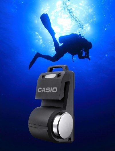 Casio device lets scuba divers converse underwater