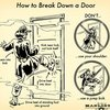 Learn How to Break Down a Door (Without Hurting Yourself)