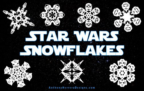 Star Wars Snowflakes 2012