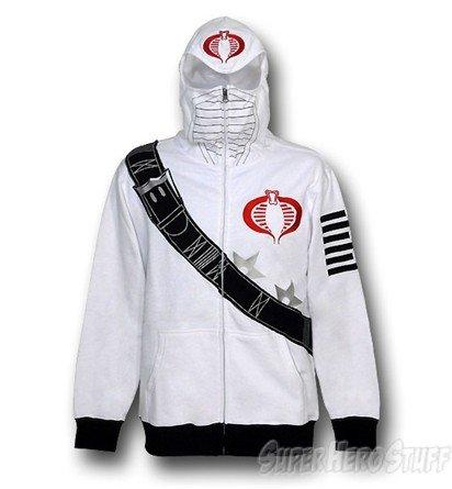 GI Joe Storm Shadow Costume Hoodie