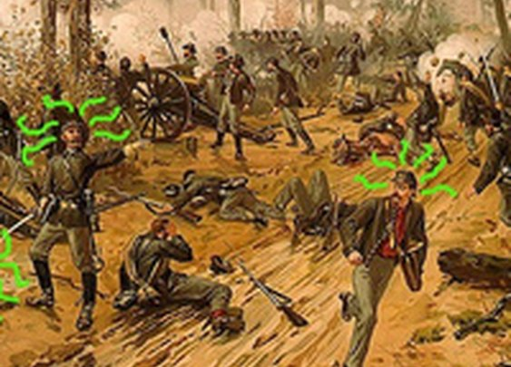 The Mystery of the Glow-in-the-Dark Civil War Soldiers