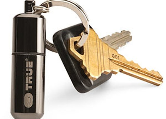 ThinkGeek :: FireStash Keychain Lighter