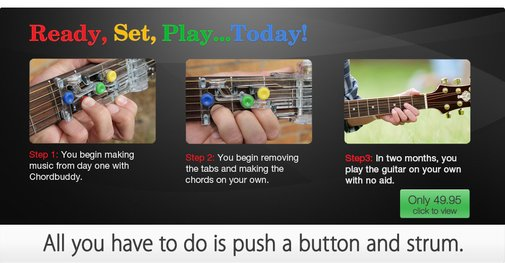 ChordBuddy | Fastest Guitar Learning System