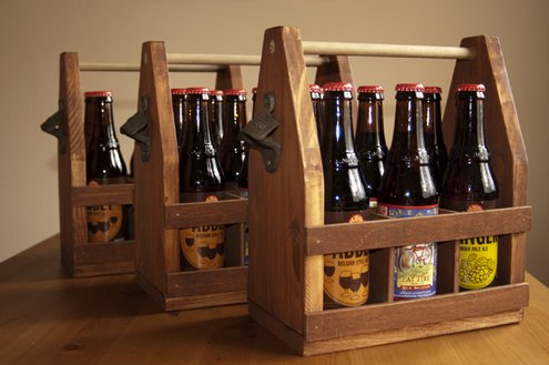 How to: Make a Wooden Beer Caddy