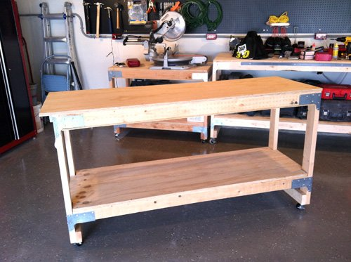 How to Make a Work Bench